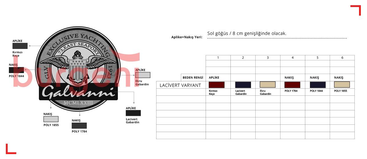 Burgeni Tekstil Tasarım ve Marka Ajansı Föy