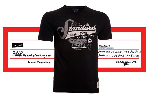 Burgeni Tekstil Tasarım, Rich Devil Erkek T-shirt Koleksiyon, Moda Tasarım, Baskı Deseni, Marka Geliştirme